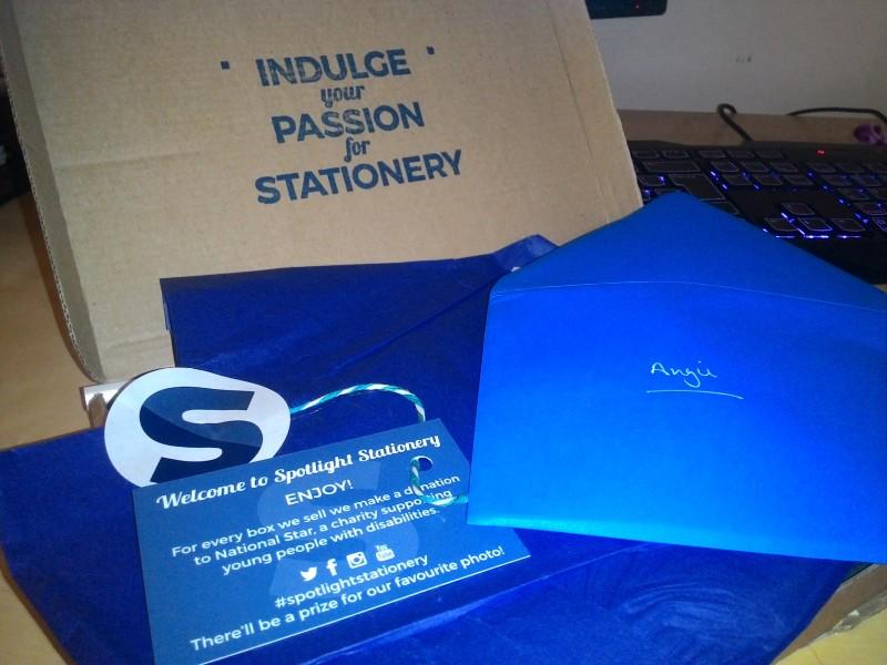 Spotlight Stationery, pierwsze pudełko