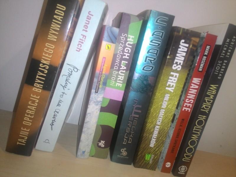 Playlista książek na najbliższe miesiące