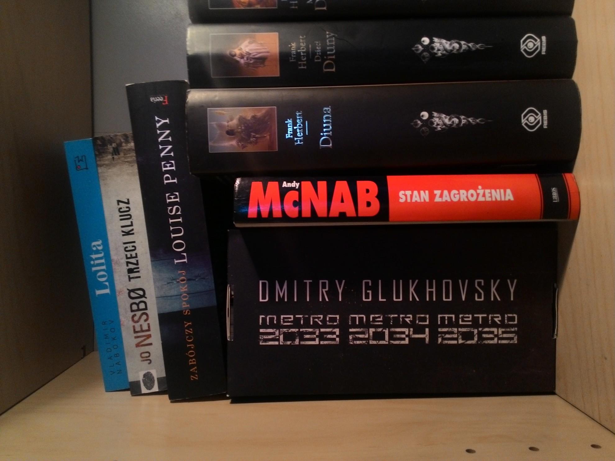 ŚBK: przykurzątka, czyli książkowe wyrzuty sumienia