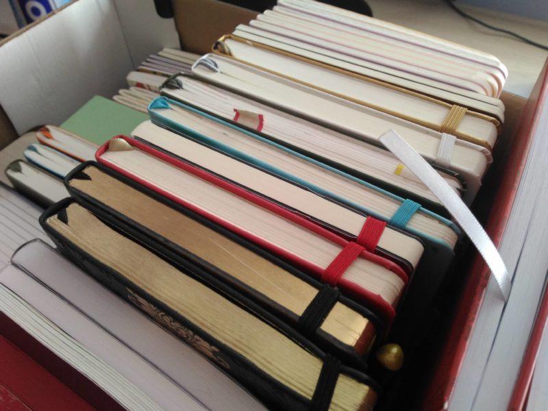 Ile notatników to za dużo? Czyli przeglądamy moje zbiory (A5, A5+)