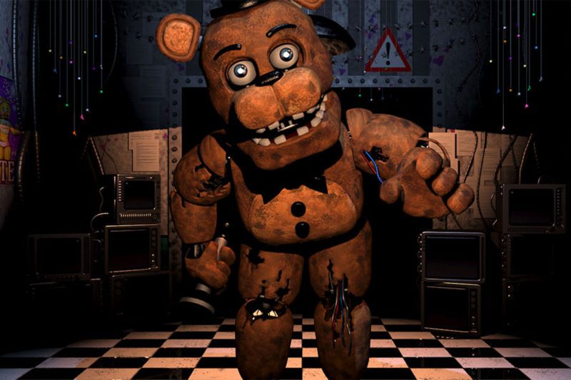 Książkowy świat Five Nights at Freddy's